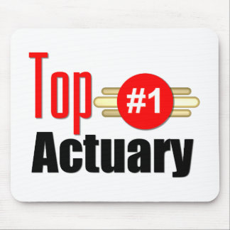 Top Actuary Mouse Pads