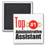 Top Administrative Assistant Refrigerator Magnets