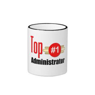 Top Administrator Ringer Mug