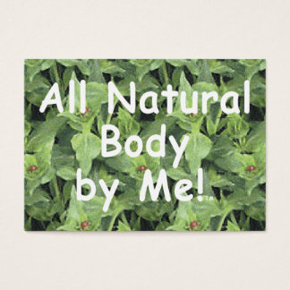 TOP All Natural Body Business Card