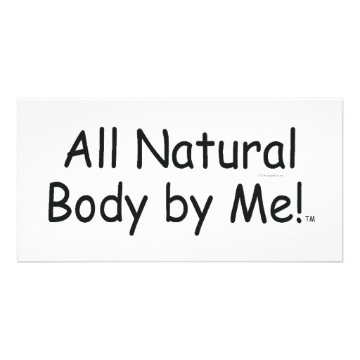TOP All Natural Body Card