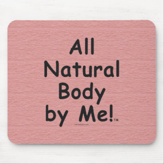 TOP All Natural Body Mouse Pad