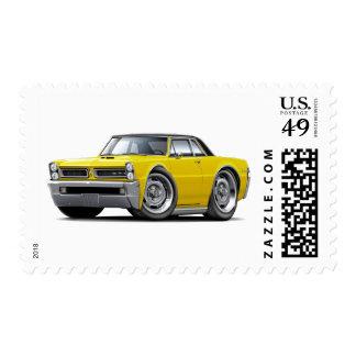 Top Amarillo-Negro de 1965 GTO Sello Postal