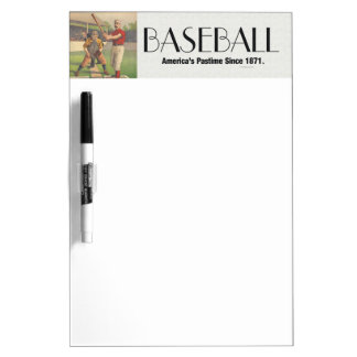 TOP America's Pastime Dry-Erase Board