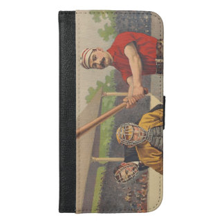 TOP America's Pastime iPhone 6/6s Plus Wallet Case