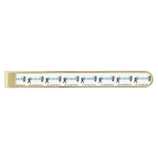 TOP Archery Gold Finish Tie Bar