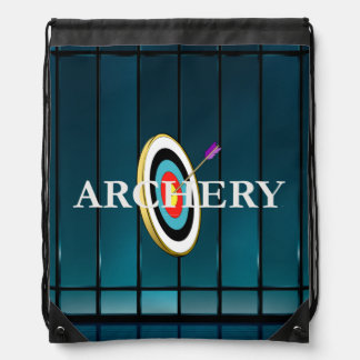 TOP Archery Drawstring Backpack