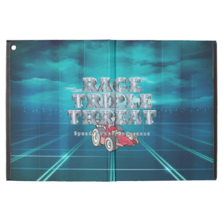 "TOP Auto Race Triple Threat iPad Pro 12.9"" Case"