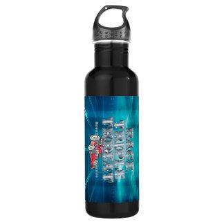 TOP Auto Race Triple Threat Stainless Steel Water Bottle
