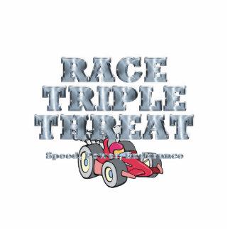 TOP Auto Race Triple Threat Statuette