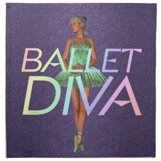 TOP Ballet Diva Napkin