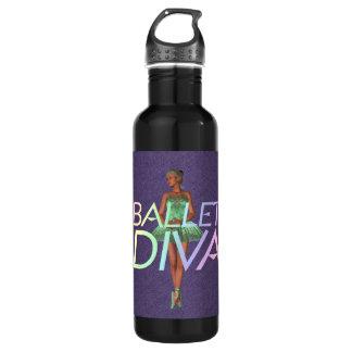 TOP Ballet Diva Water Bottle