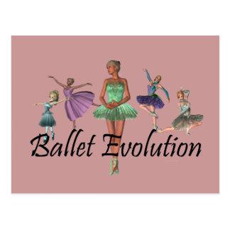 TOP Ballet Evolution Postcard