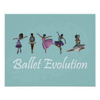 TOP Ballet Evolution Print