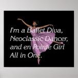 TOP Ballet Slogan Poster