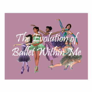 TOP Ballet Within Me Cutout