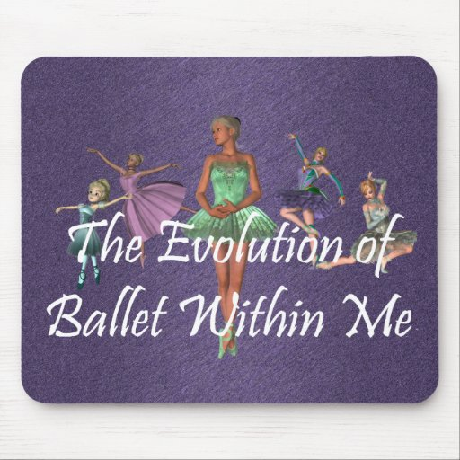 TOP Ballet Within Me Mouse Pad