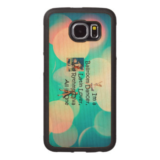 TOP Ballroom All in One Wood Phone Case
