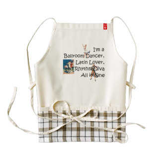 TOP Ballroom All in One Zazzle HEART Apron