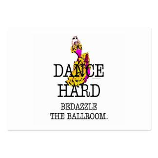 TOP Ballroom Dazzle Business Card Template