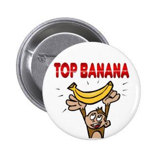 Top Banana Pinback Button