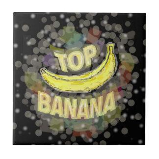 Top banana. ceramic tile