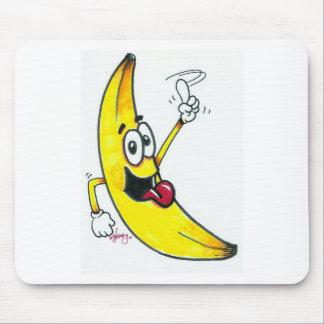 Top Banana, dancing banana cartoon Mousepads