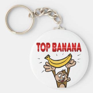 Top Banana Keychain