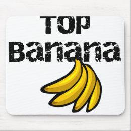 Top Banana Mouse Pad