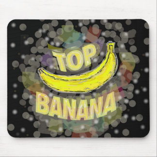 Top banana. mouse pad