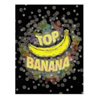Top banana. postcard