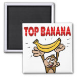 Top Banana Refrigerator Magnets