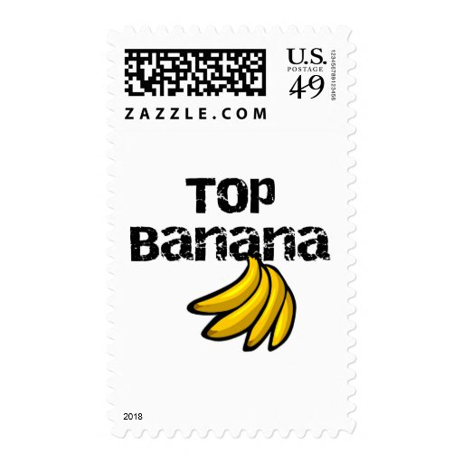 Top Banana Tshirts and Gifts Postage Stamps