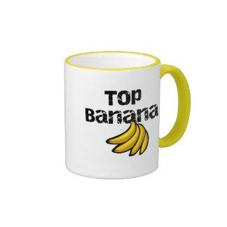 Top Banana Tshirts and Gifts Ringer Mug