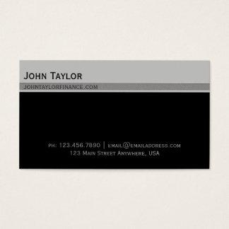 Top Bar Exec Business Card