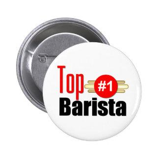 Top Barista 2 Inch Round Button