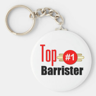 Top Barrister Basic Round Button Keychain
