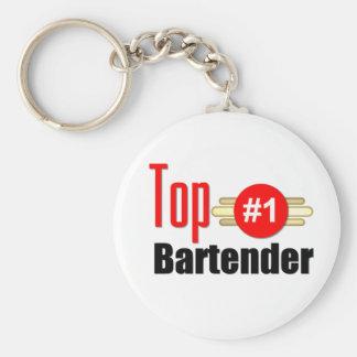 Top Bartender Keychain