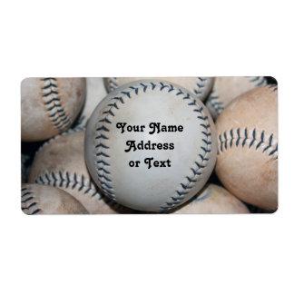 Top Baseball Label