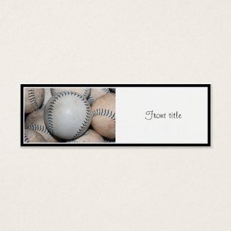 Top Baseball Mini Business Card