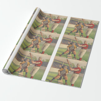 TOP Baseball Pastime Wrapping Paper