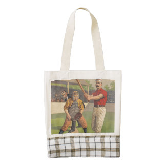 TOP Baseball Pastime Zazzle HEART Tote Bag