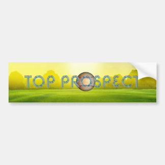 TOP Baseball Prospect Bumper Sticker