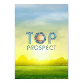 TOP Baseball Prospect Card