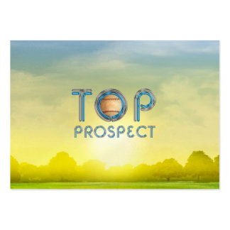 TOP Baseball Prospect Large Business Cards (Pack Of 100)