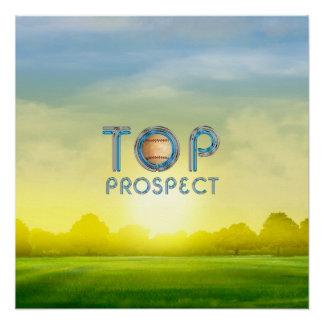 TOP Baseball Prospect Poster