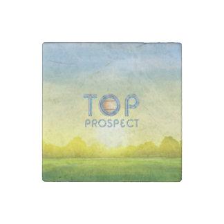 TOP Baseball Prospect Stone Magnet