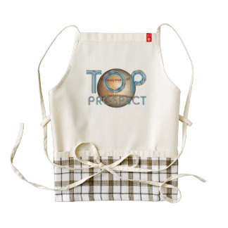 TOP Baseball Prospect Zazzle HEART Apron