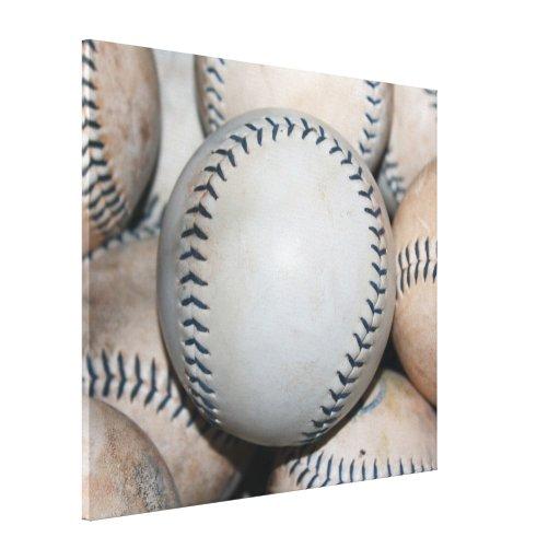 Top Baseball (Softball) Canvas Print