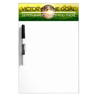 TOP Baseball Victory Slogan Dry Erase Board